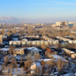 Stock Photo: Panoramic view on Almaty
