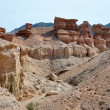 Stock Photo: Charyn Canyon in Kazakhstan