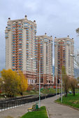 Luxurious Apartment District in Almaty — Stock Photo
