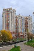 Luxurious Apartment District in Almaty — Stock Photo
