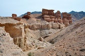 Charyn Canyon in Kazakhstan — Stock Photo