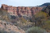 Charyn Canyon near the city of Almaty, Kazakhstan — Stock Photo