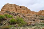 Charyn canyon under våren — Stockfoto