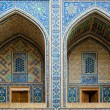 Ulugh Beg Madrassah in Samarkand — Stock Photo