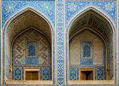 Ulugh Beg Madrassah in Samarkand — Stock Photo