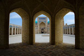 Poi Kalon Mosque Complex in Bukhara — Stockfoto