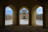 Poi Kalon Mosque Complex in Bukhara — Stock Photo