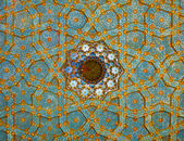 Fresco on Mosque's Ceiling — Stock Photo