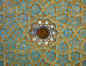 Fresco on Mosque's Ceiling — Stock Photo