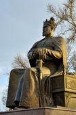 Insamarkand статуя тамерлана — Стоковое фото