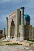 Registan w samarkandzie — Zdjęcie stockowe