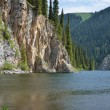 Stock Photo: Kolsay Lake in Kazakhstan