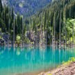 Stock Photo: Kaindy Lake in Kazakhstan