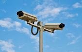 Câmeras de vigilância — Foto Stock