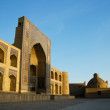 Poi Kalon Complex in Bukhara — Stock Photo