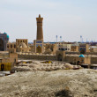 Panorama of Bukhara's old town — Stock Photo