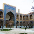 Ulugh Beg Madrassah in RegistEnsemble in Samarkand — Stock Photo #5887717