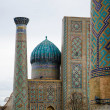 Registan Ensemble in Samarkand — Stock Photo