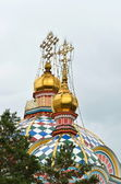 Zenkov katedralen i staden almaty — Stockfoto