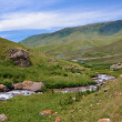 Stock Photo: Turgen Valley and river in Kazakhstan