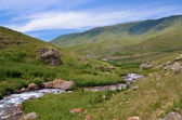 Turgen Valley and river in Kazakhstan — Stock Photo
