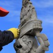 Стоковое фото: Unfinished statue,work of sculptor