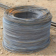 Hank iron wire — Stock Photo