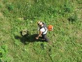 Lawnmower — Stockfoto