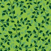 Liana floral abstract seamless — Stock Vector