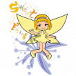 Sweet Fairy — Stock Vector