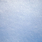 Blue Snow — Stock Photo