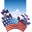 Vector de stock : Fourth of July.