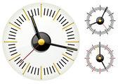 Clock. — Vettoriale Stock