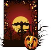 Ilustração de Halloween. — Vetor de Stock