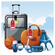 Royalty-Free Stock Vector Image: Vacation.