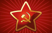 Soviet Red Star. — Stock Vector