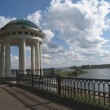 Stock Photo: Quay of river of Volgin Yaroslavl, Russia