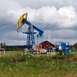 Oil recovery in the Kaliningrad region, Russia — Stock Photo