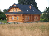 The wooden house — Stock Photo