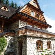 Stock Photo: Country house in Zakopane, Poland