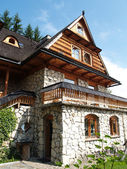 Country house in Zakopane, Poland — Stock Photo