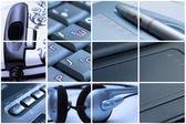 Technology montage — Stock Photo