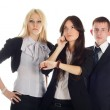 The business team — Stock Photo