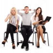 The business team — Stock Photo #5844016