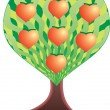 Royalty-Free Stock Vector Image: Love tree.