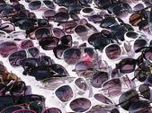 Eyeglasses Sunglasses. Sale — Stock Photo