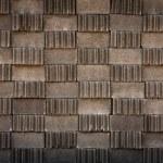 Gray brick block pattern — Stock Photo