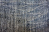 Crease of jeans texture — Stock Photo