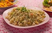 Thai style fried rice — Stock Photo