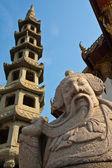 Statue de style chinois — Photo